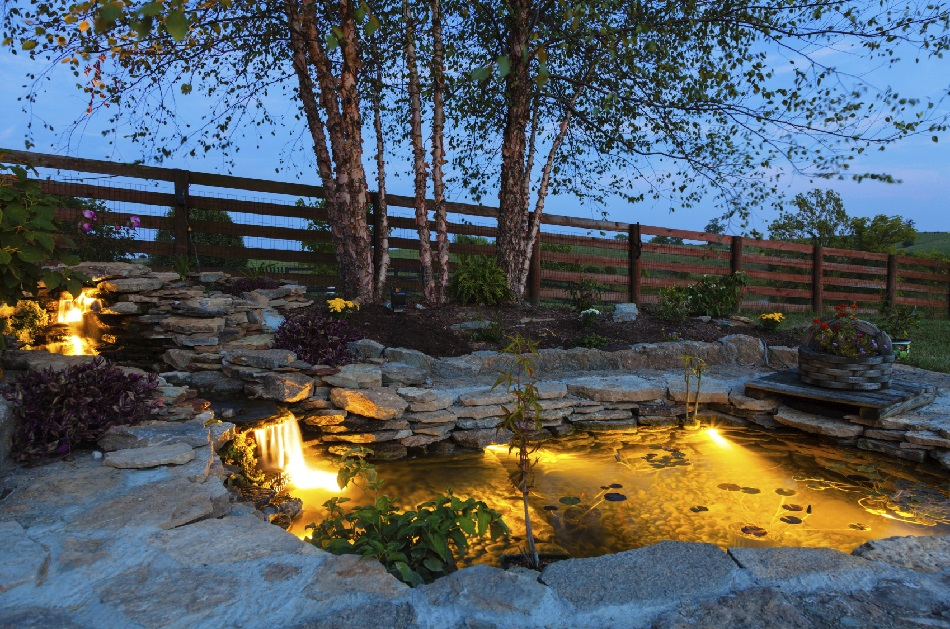 Backyard Ponds And Water Garden Landscaping Ideas