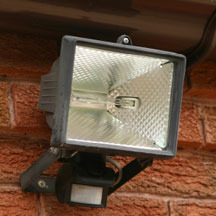Motion Activated Security Light
